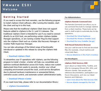 Access to Vmware vSphere 5 5 – 3T Solutions