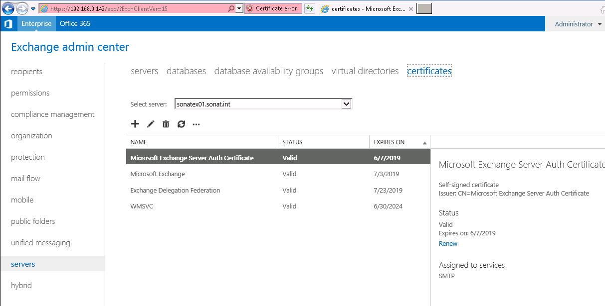 Exchange 2013 Certificate Request Process 3t Solutions