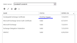 Exchange 2013 Certificate Request Process – 3T Solutions